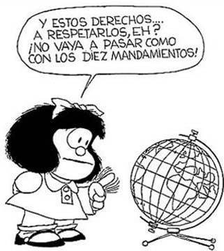 Mafalda derechos